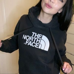 The North Face classic black hoodie
